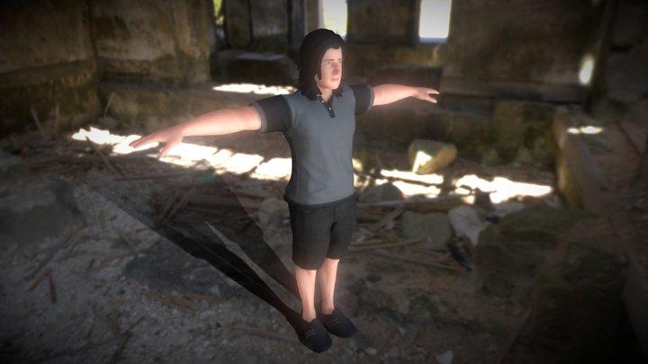 Javier Da Rosa (T-pose) 3D Model