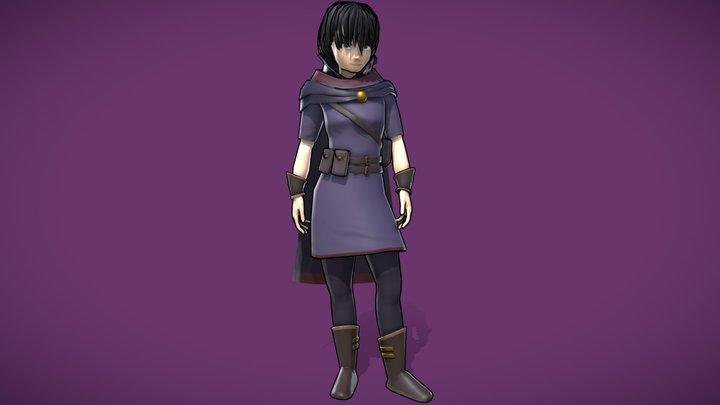 Cecile - Ni no Kuni Character 3D Model