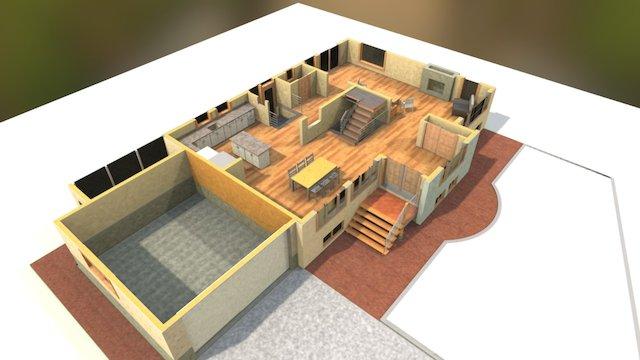 First Floor 3D Model