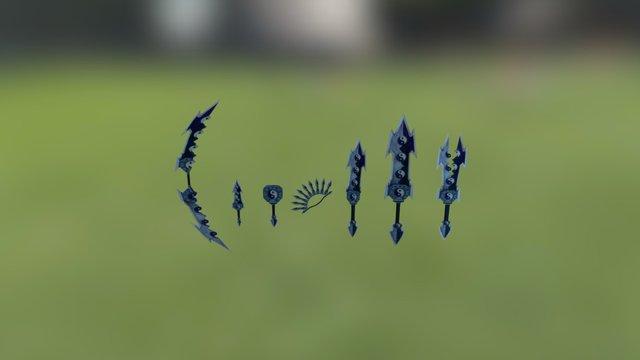 Weapon V2 3D Model