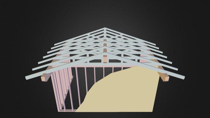 Lookout framing 3D Model
