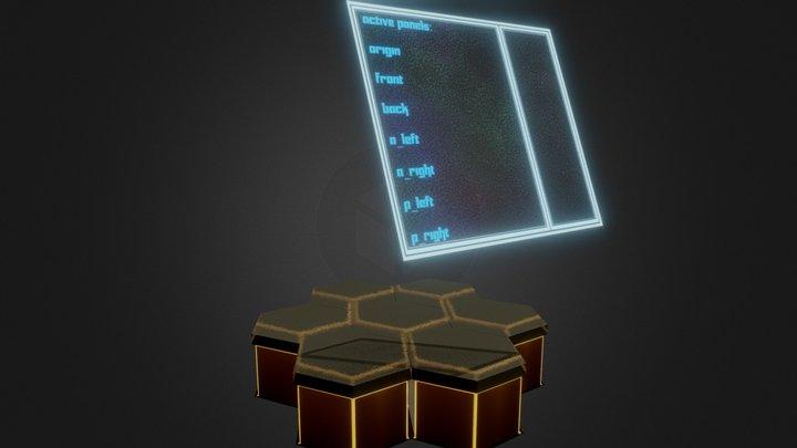 Hexa Tiles 3D Model