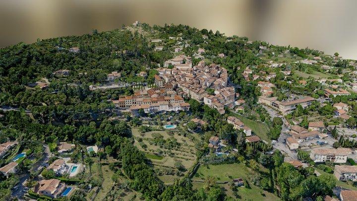 Village France 3D Model