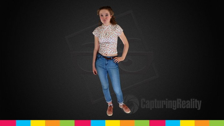 Therese's Fun Pose - The Big Bang Fair 3D Model