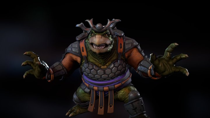 Honor Bound Kuzenbo 3D Model