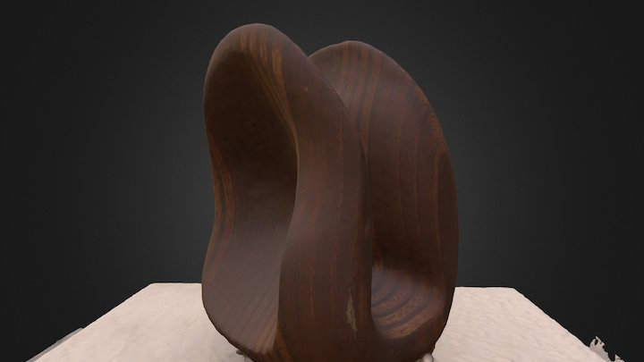 Wood Carving 3D Model