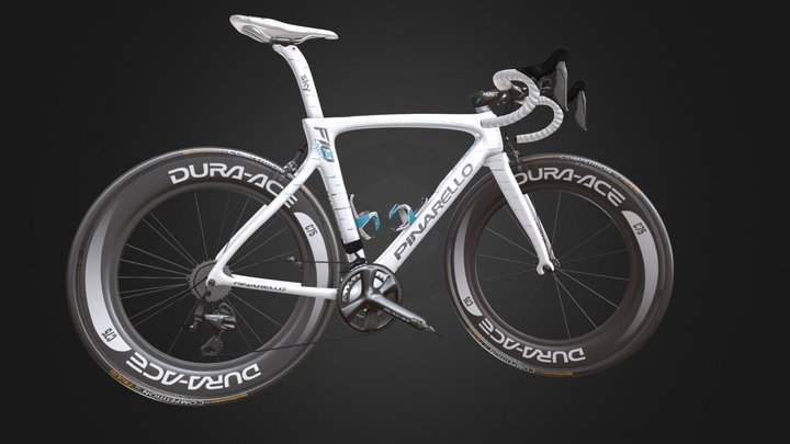 Piranello DOGMA F10 X-LIGHT white 3D Model
