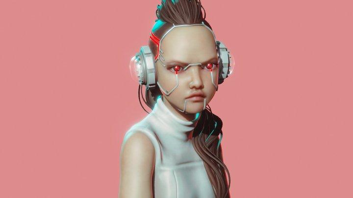 SculptJanuary // Punk 3D Model