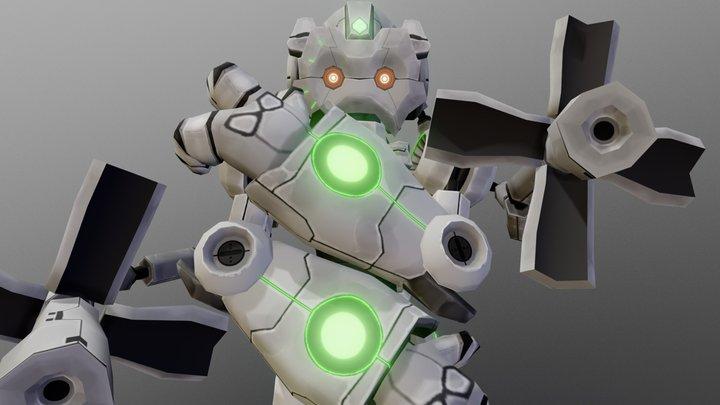 NS - A.R.U. 3D Model