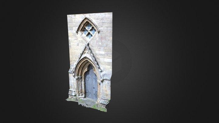 Hedon Nave North Door 3D Model