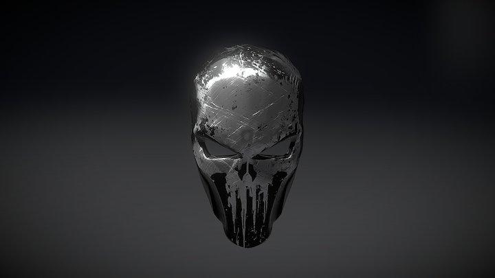 Skull Mask 3D Model