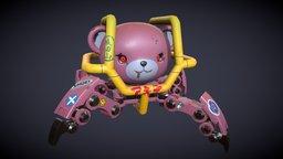 Bear Bot 3D Model