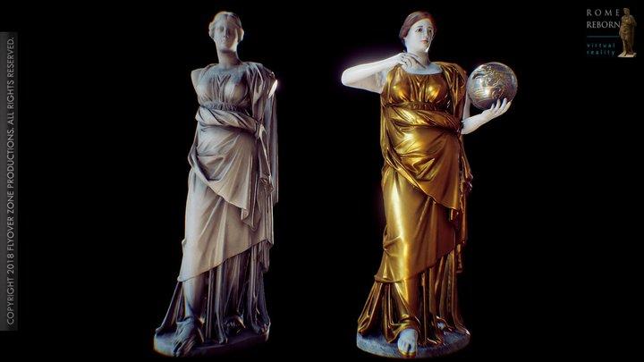 Muse (Urania, state and restoration models) 3D Model