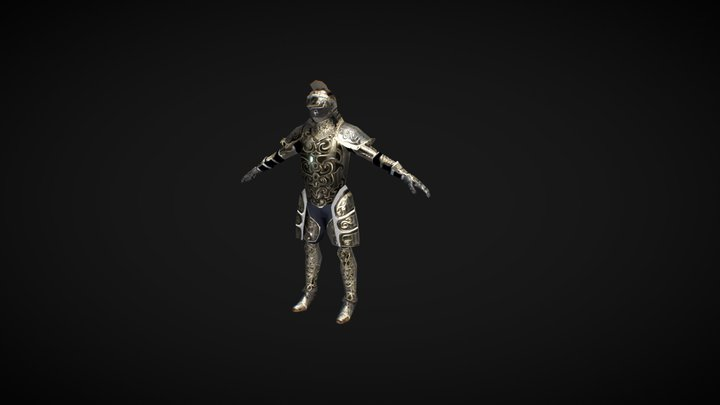Solus The Knight 3D Model
