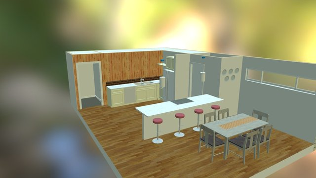 Kitchen by Studio KB 3D Model