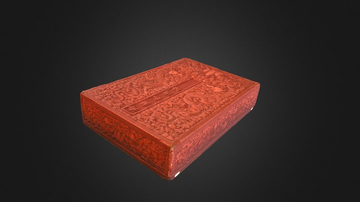 Lacquer Box, Or 6682 3D Model