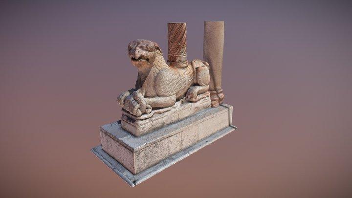 Grifo del Duomo de Verona (s. XII) 3D Model