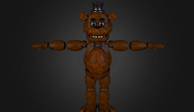 Freddy 3D Model