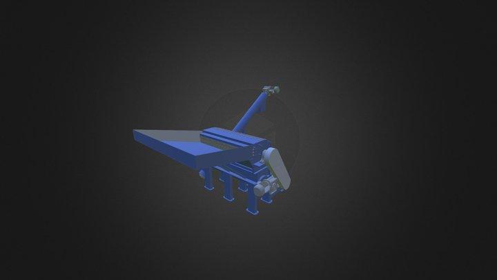 Hammer Mill Reciclis MCR 75 3D Model