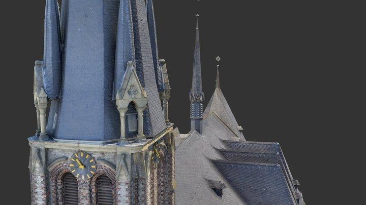 Kirche in Wirges / Rheinland-Pfalz 3D Model