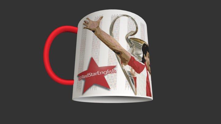 @RedStarEnglish Mug (Darko Pančev) 3D Model