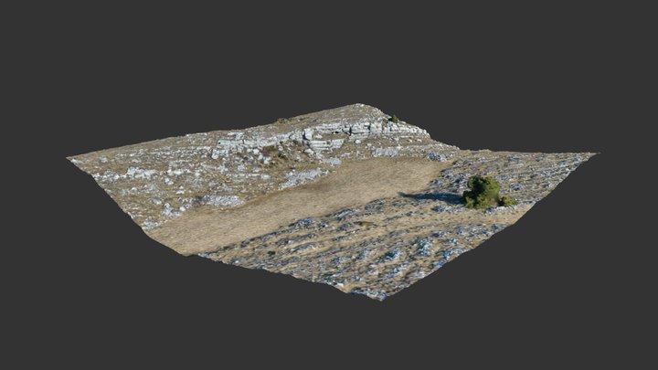Limestone layers 3D Model