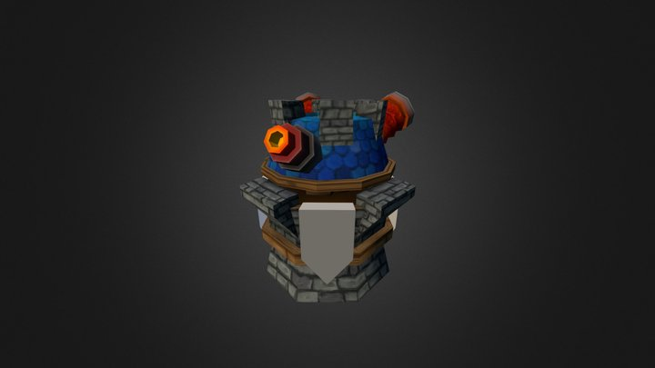 Firetower Level1 3D Model