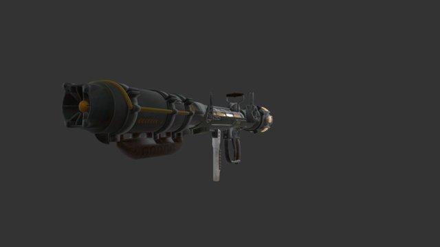 Fusion Cannon 3D Model