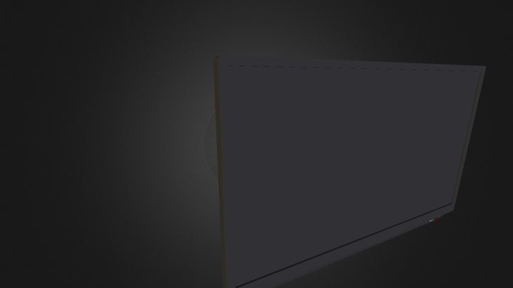 TV F B X 3D Model
