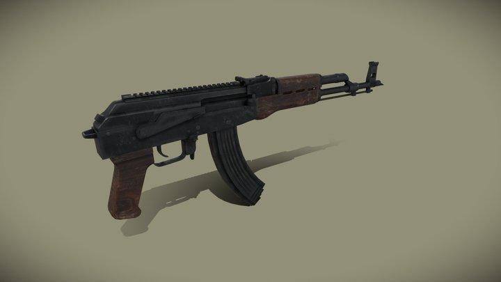 Somali Ak-47 3D Model