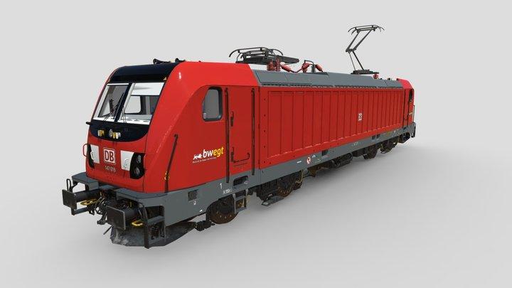 Bombardier Traxx 147 3D Model