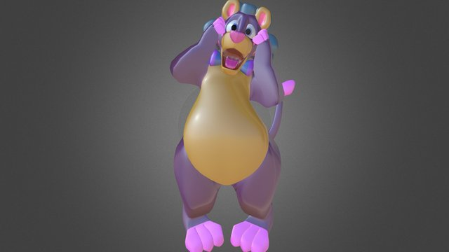 Balloonatic - Once You Pop 3D Model
