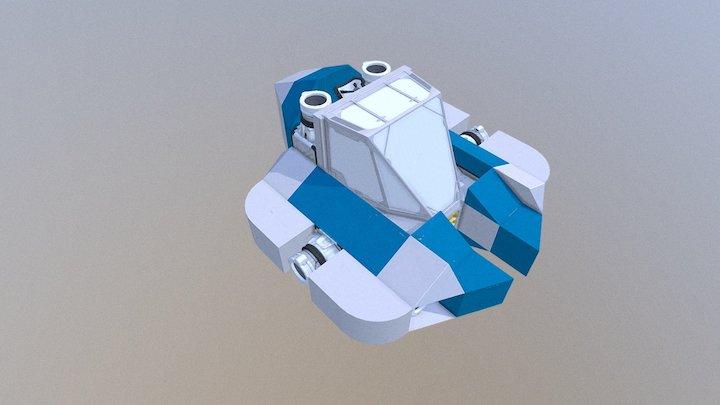 Seamoth Subnautica No Mods Obj Files 3D Model