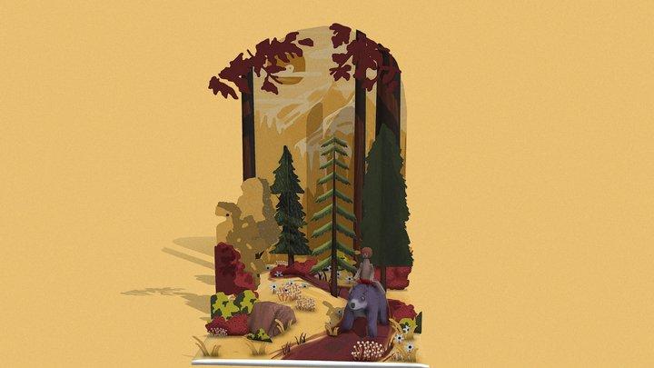 Jungle book 3D Model