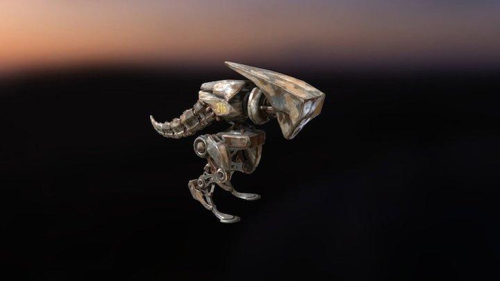 iClone 7 Raptoid Mascot - Free Download 3D Model