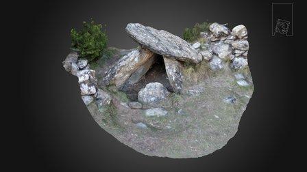 Dolmen de Letranz - Villanúa (Huesca) 3D Model