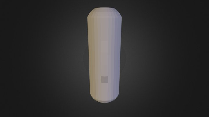 KSP | Small Radial Fuel Tank 3D Model