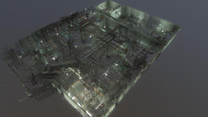 Hotel escaner 3D Model