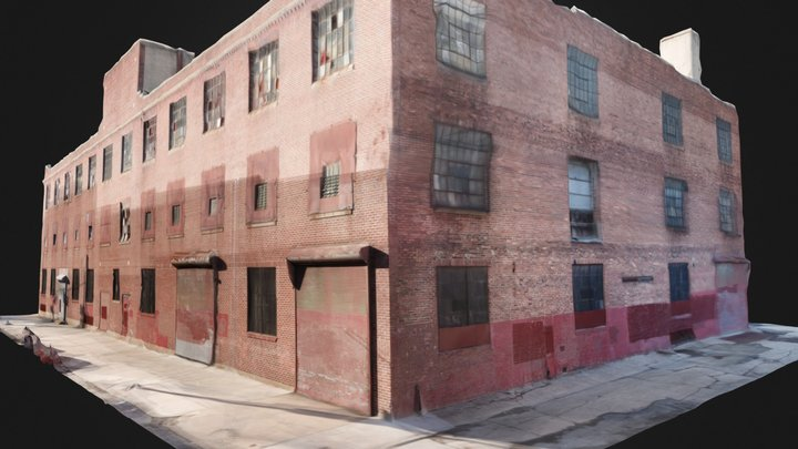 Building Exterior Med Quality 3D Model