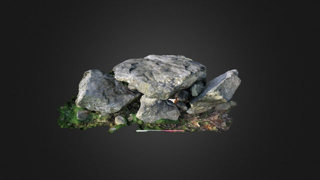 Ty Mawr Neolithic Burial chamber 3D Model