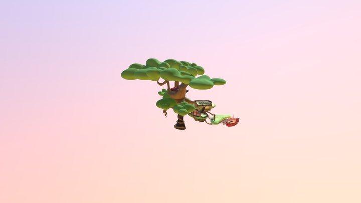 Escenario Mandragora 3D Model