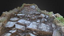 Tintagel Castle – Archaeological Dig – Trench D 3D Model