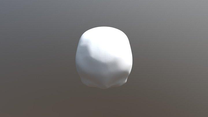 Skull, iteration #2 3D Model