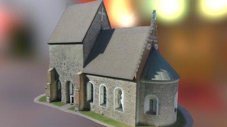 Gamla Uppsala kyrka 3D Model