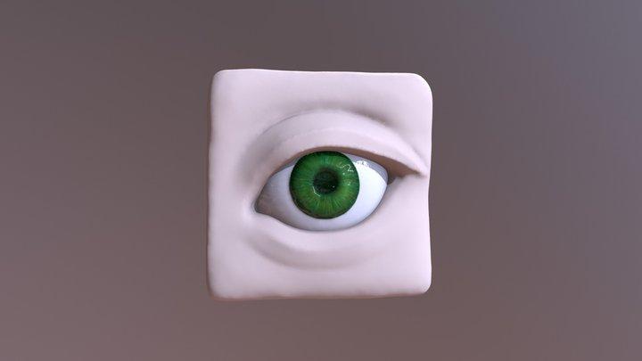 Sculpt January Day 08 - Eye 3D Model