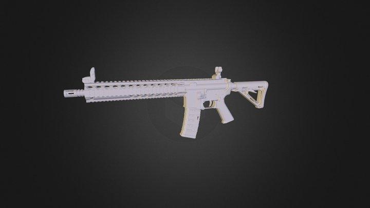 Weapon / MK18 3D Model