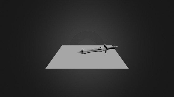 BRONZE GREAT SWORD 3D Model