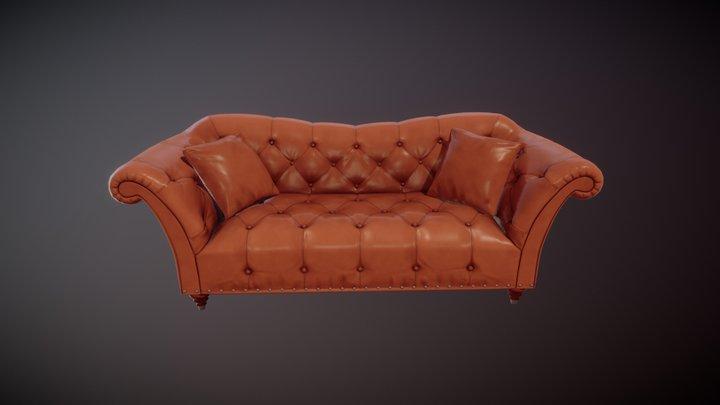 Sofa Ellen 3D Model