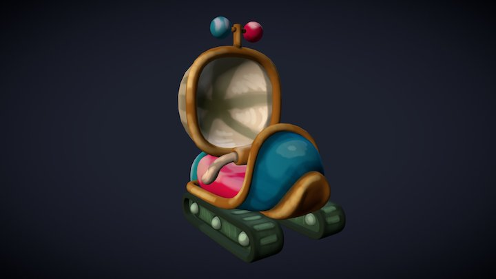 Time Machine from Cookie Clicker 3D Model