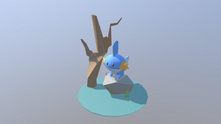 Mudkip 3D Model